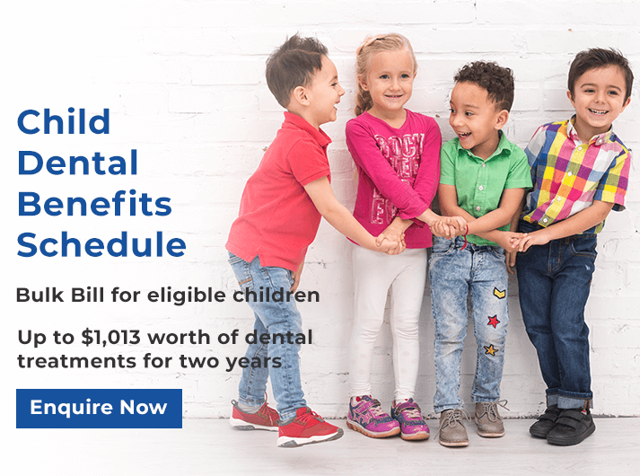 child dental benefits schedule banner melbourne cbd