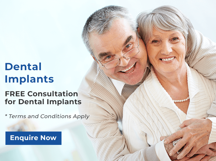 free consultation for dental implants banner melbourne cbd
