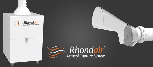 rhondair aerosol capture system banner melbourne cbd