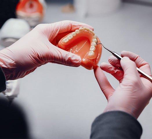 denture-making procedure melbourne cbd